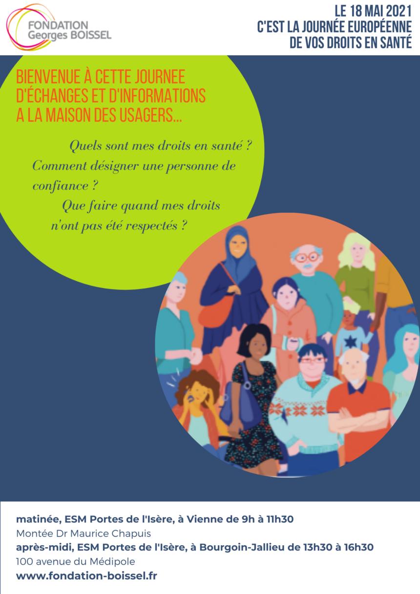 10ème Journée Européenne de vos Droits en Santé (JEDS)